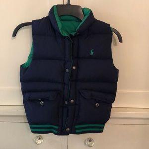 Reversible Ralph Lauren puffer vest